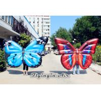 China Beautiful Inflatable Butterfly Wings Costumes for Parade, Party and Stage wholesale