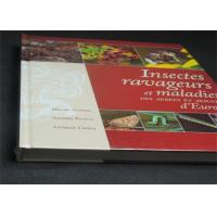 China Professional France Insects Hardcover Book Printing With Plastic Film wholesale