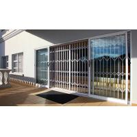 China 0.8 - 2.0mm Thickness Aluminium Security Doors With Extrusion Profile White Color wholesale