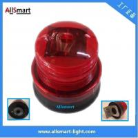China 4LED Red Amber Orange Flashing Sensor Marine Signal Lights Solar Powered Strobe Beacon Blink Led Lighting With Magnet wholesale