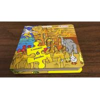 China Professional Small Children'S Puzzle Books / Cute Cartoon Puzzle Story Books wholesale