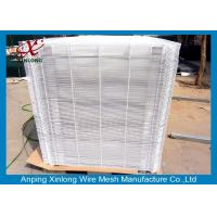 China 3D Welded Stainless Steel Wire Mesh , Square Welded Wire Fabric 50x200mm on sale