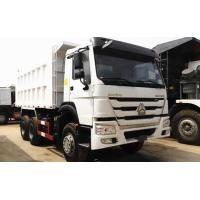 China 30 Tons White 371hp 6×4 Dump Truck Euro 2 WD615.69 Diesel Fuel Type on sale