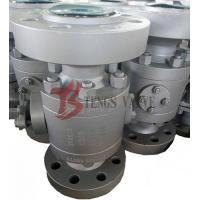 China A105 Trunnion Fire Safe Ball Valve API6D CL1500LB Reduced Bore RB wholesale
