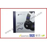 China Chipboard headphone package , factory price printing hang box with picture UV wholesale