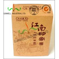 China Custom Printed Corrugated Food Packaging Boxes Eco Friendly Kraft Paper wholesale