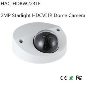 Buy cheap Dahua 2MP Starlight HDCVI IR Dome Camera (HAC-HDBW2231F) from wholesalers
