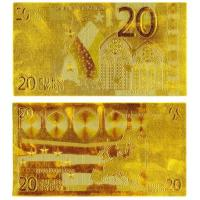 China Euro Banknotes Gold 20 Euro Money Pater wholesale