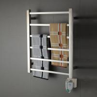China 6 Bar square stainless steel wall mounted economical and practical safety heated towel rail wholesale