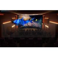 China Flat Screen 5D Movie Theater with 7.1 Audio System Install In Exhibition Hall wholesale