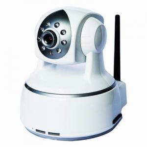 China 802.11b/g Protocol Wifi M-JPEG Tilt and Pan CCTV Night Vision IP PTZ Cameras wholesale