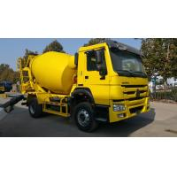 China SINOTRUK HOWO 6 Wheeler 6m3 Concrete Mixer Truck With Good Price For Sale wholesale