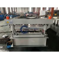 China Corrugated Sheet Cold Roll Forming Machine Production Line For Double Decker Roofing wholesale
