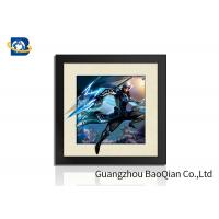 China Indoor Wall Art 5D Pictures Glossy / Matt / Offset Surface Effect No Harm Material wholesale