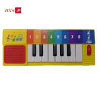 China Promotional Handmade Custom Piano Musical Instrument Child Early Educational Learning Piano Music Sound Board Book wholesale