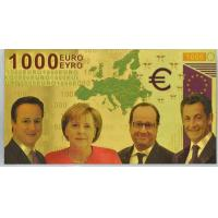 China 1000 Euro Bank Note Colored European Bill wholesale