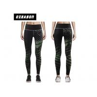 China Quickly Dry Ladies' Compression Jogger Pants Black Leggings For Gym wholesale