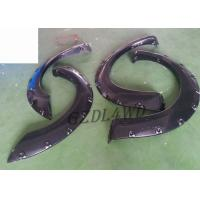 China 2 Door Truck 4x4 Wheel Arch Flares For Nissan Navara D40 Parts With Rubber Trim wholesale