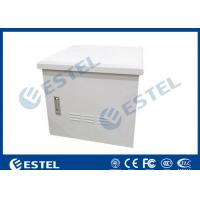 China Anti-corrosion Outdoor Telecom Cabinet Temperature Control With One Front Door wholesale