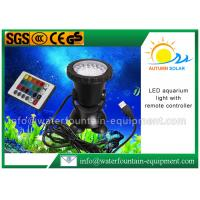 China LED Color Changing Submersible Aquarium Light , Fountain Light With Remote Controller wholesale