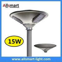 Buy cheap New 15W 1500lm UFO Solar Garden Lights All In One Parking Lot Lamp Solar Energy Products With 30W Solar Panel Aluminum from wholesalers