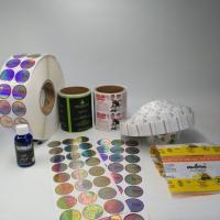 China Pvc Transparent Heat Shrink Sleeve Labels Barcode Metallic Holographic For Box / Pill Bottle wholesale