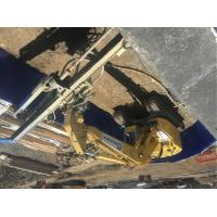 China Mounted Onto An Excavator Anchor Drilling Rig Mast Hydraulic Clamps 1Ton Winch Side Shift wholesale