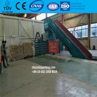 Quality automatic hydraulic scrap plastic baling press for sale