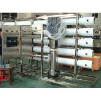 China PET Glass Bottle RO Water Treatment System in Stainless Steel , Water Treatment Filter wholesale