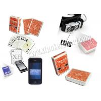 China Italy Dal Negro Paper Invisible Playing Cards For Poker Scanners wholesale