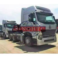 China 4x2 / 6x4 Howo Prime Mover Power Assistant LHD / RHD Steering HOWO A7 Cabin wholesale