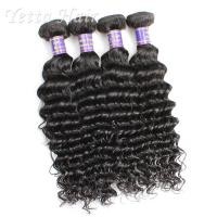 China Customized 7A European Weft Hair Extensions  Deep Wave No Chemical wholesale