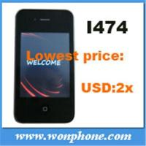China Dual Sim Card Mobile Phone I474 4G wholesale