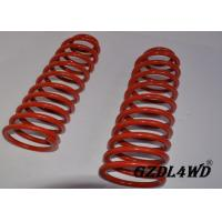 China Red 4X4 Leveling Lift Kit Suspension Coil Spring Parts For Jeep Cherokee XJ wholesale