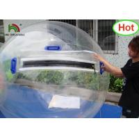 Buy cheap 2m Dia PVC Inflatable Water Ball / Customized Japan Zipper Clear Water Walking from wholesalers