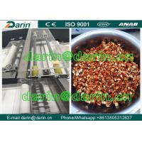 China Rollers Flattening And Cutting Peanut Candy Bar Making Machine SUS304 Material wholesale