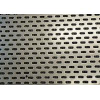 Buy cheap Easy Fabricate Slotted Perforated Metal , Slotted Steel Sheet For Grain Sieving from wholesalers
