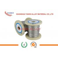 China Moderate Resistivity Cupronickel Wire / Constantan Wire For Precision Resistor wholesale