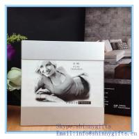 China Shinny gifts aluminum sexy girl picture Photo Frames wholesale