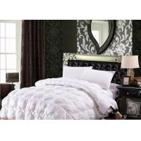 China 100% Cotton Luxury Duck Down Quilt / Duck Feather And Down Duvet Alternative Washed wholesale