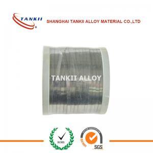 China Ni60Cr15 Ni35Cr20 Ni30Cr20 Nickel Chromium Resistance Alloy Nicr Alloy Nicr Flat Wire And Strip wholesale