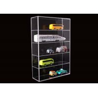 China 5 Layer Clear Acrylic Display Stands Airplane Cars Model Storage Rack Customised wholesale