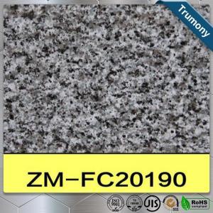 China Stone Finished Painted Aluminum Sheet Panel Marble Pattern For Decoration wholesale