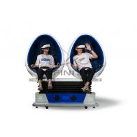 China Infinity 720 Rotation 9D Egg VR Cinema / VR Roller Coaster Games Movies 2 Seats Virtual Reality Equipment wholesale