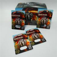 China Black/Green/Red Mamba male enhancement pills sexual capsule packaging 3D blister cards with display box wholesale