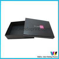 Quality Eco-friendly Lid and Bottom Paper Packaging Boxes with Logo Pirnting for sale