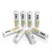 China Deep Cycle Rechargeable AA Batteries 2300mAh Ni-MH , 4 Packs wholesale