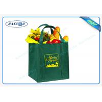 China 80/90/100 gsm non woven PP promotional bags with  reinforced handles wholesale