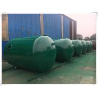 Quality Horizontal Air Receiver Tanks For Compressors , Stainless Steel Pressure Vessel for sale