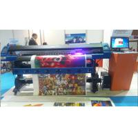 China CMYK Format Epson Eco Solvent Printer 3.2M For Advertising PVC Flex Baner without Block wholesale